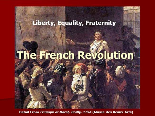 the french revolution 5 essay As the tragic events of the french revolution unfolded, king louis xvi of france soon found himself in the centre of it and gradually became one of the victims in the morning of tuesday 21st january 1793, he was woken by his guards and taken to place de la revolution.