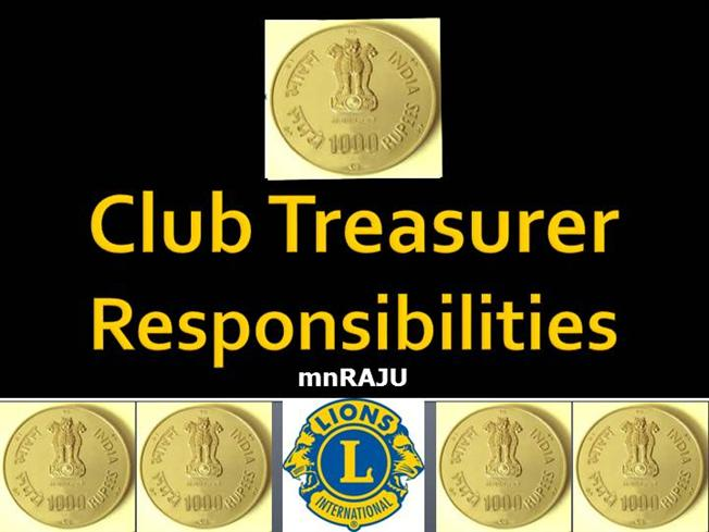 Lions club treasurer 2013 2014 authorstream for Key club powerpoint template