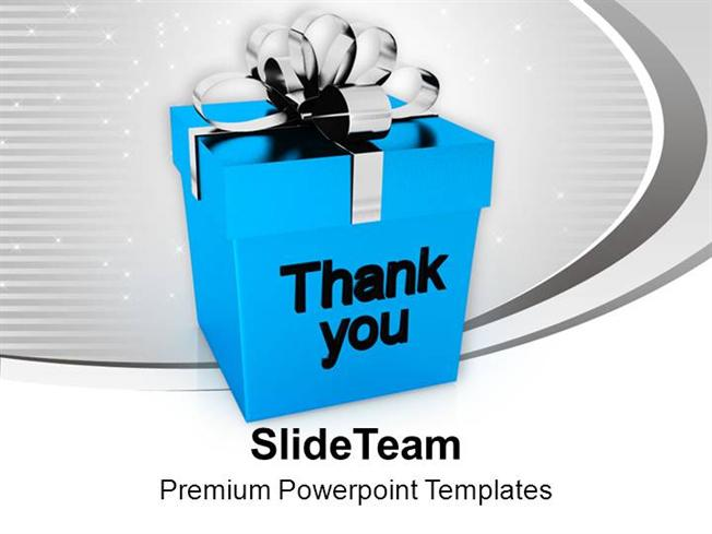 Powerpoint Templates Thank You