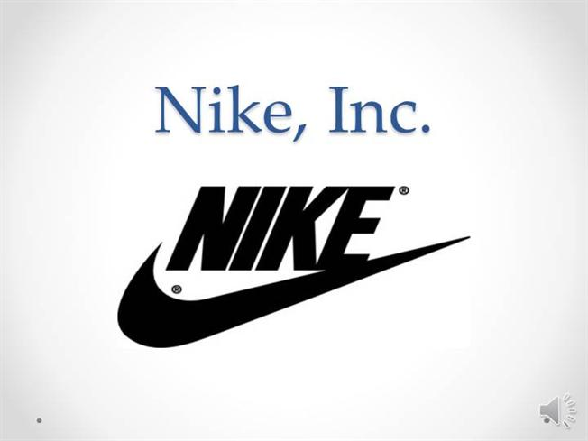 Just Do It : An Analysis of Nike Inc.