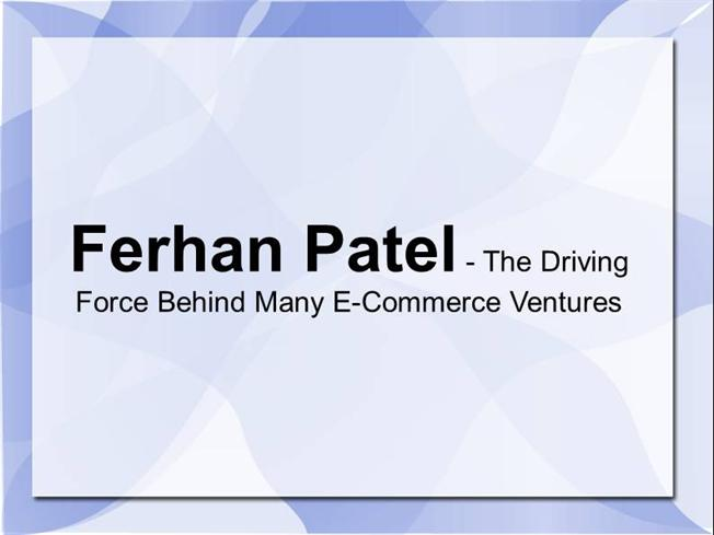 Various driving forces behind e commerce