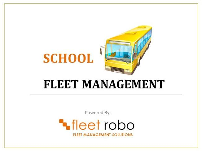 School Bus Fleet Management Solution With Vehicle Tracking