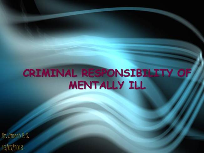 The Criminalization of the Mentally Ill in Maine