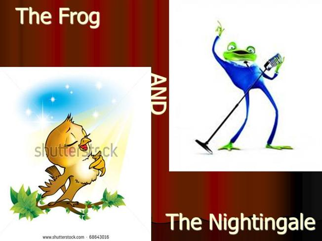 Critical appreciation of the frog and the nightingale