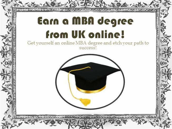 Online courses in an accelerated MBA program