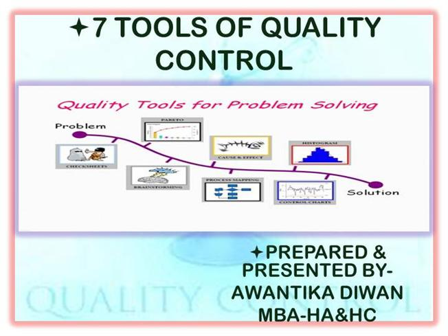 7 tools of quality