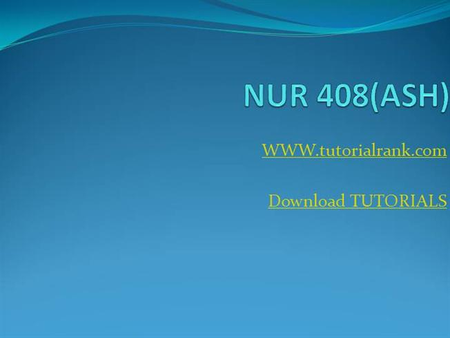 nur 408 Nur 408 assignment comparison paper for more course tutorials visit wwwuophelpcom prepare and submit a 700- to 1,050-word paper based on research from the university library resources or the internet the paper must include the following: research information about county, state, and national public health.