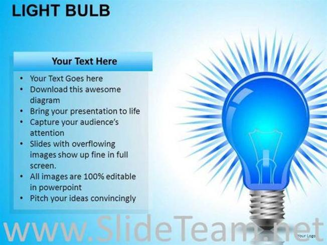 Invention Light Bulb Powerpoint Slides Powerpoint Diagram