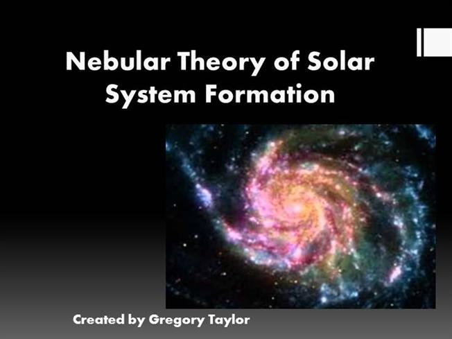 of our solar system formation theories - photo #3
