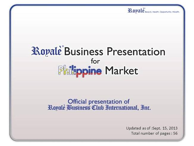 Royale Business Club Singapore