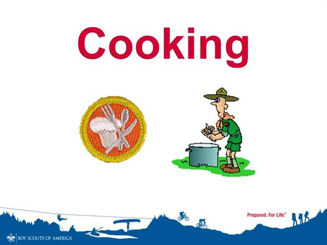 Cooking merit badge authorstream for Boy scout powerpoint template