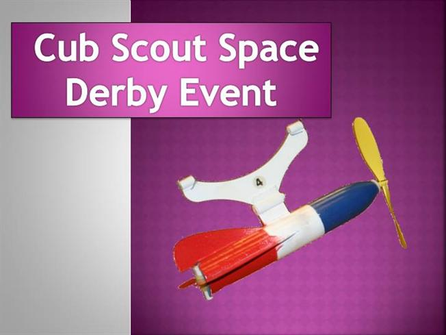 Cub scout space derby event authorstream for Boy scout powerpoint template