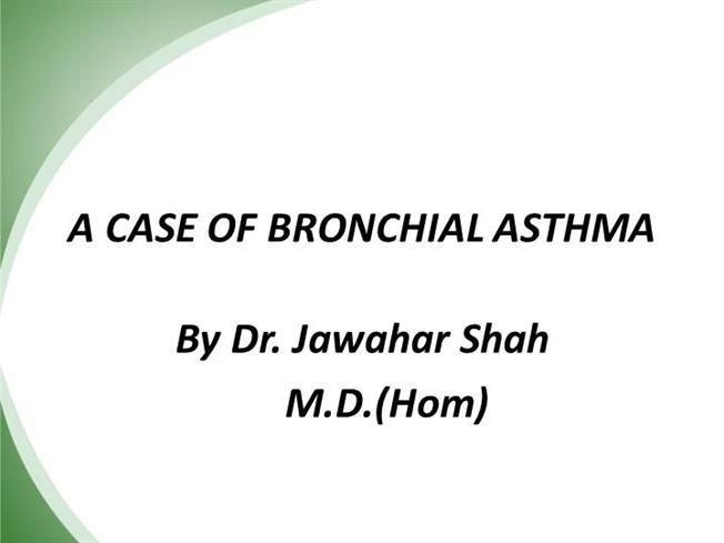 asthma case study scribd Asthma - an interprofessional case study at the end of this presentation students will be able to: • give a definition of asthma • discuss what could cause asthma.