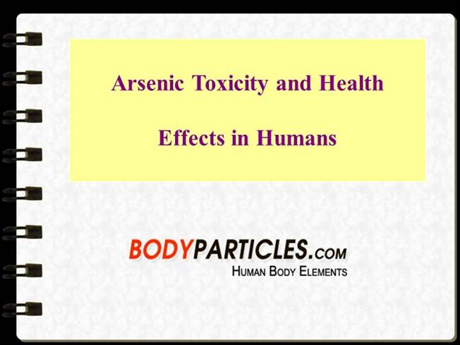 Is Arsenic Naturally Found In The Human Body