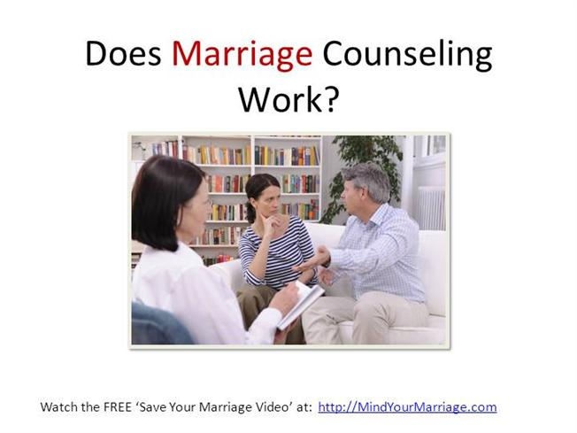 does relationship counseling work