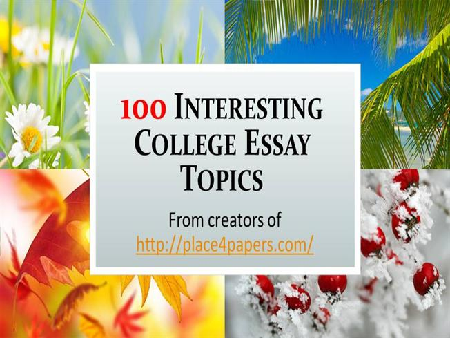 most interesting college essays