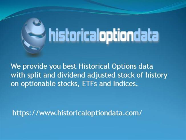 Stock options history
