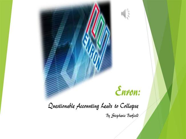 enron s questionable transactions To provide a rendering of the rise and fall of the enron organization this paper provides an overview of the rise and fall of the american energy company enron.