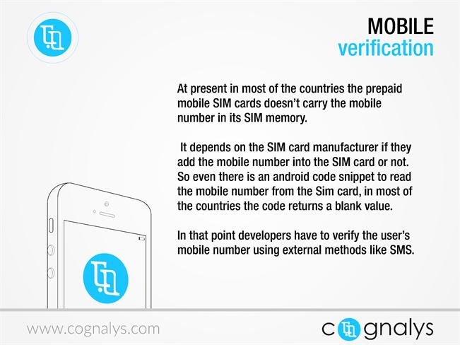 Free Global Android Mobile Number Verification -Cognalys Com