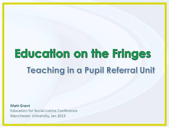 Teaching in a pru three common issues authorstream for University of manchester powerpoint template
