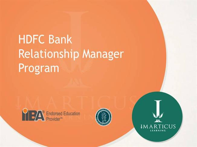 salary of relationship manager in hdfc bank