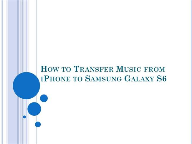 how to transfer music from iphone to iphone how to transfer from iphone to samsung galaxy s6 1664