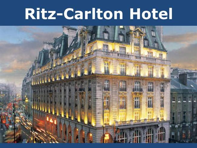 The ritz carlton does not sell hotel