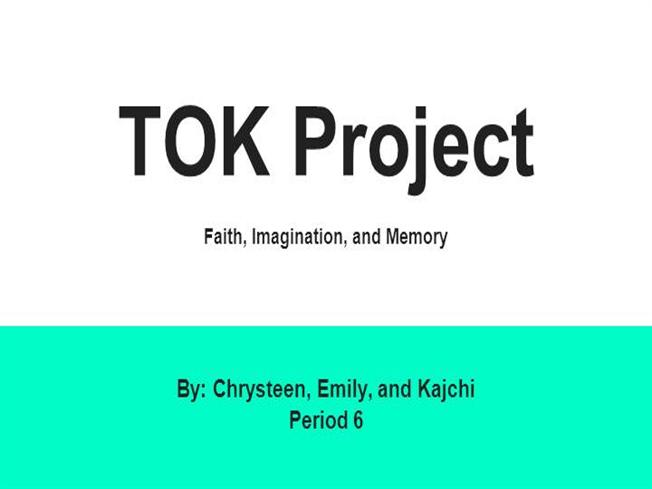 Chrysteen emily and kimchi tok project authorstream for Tok presentation template