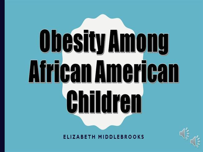 Obesity among children authorstream for Childhood obesity powerpoint templates