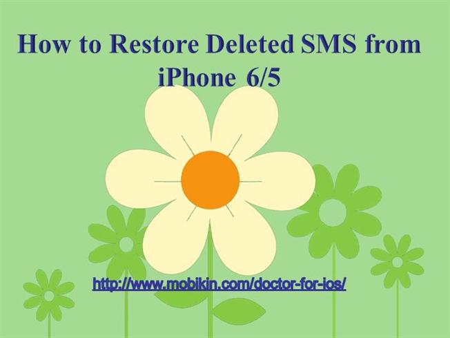 how to retrieve deleted texts from iphone 5 how to restore deleted sms from iphone authorstream 20980