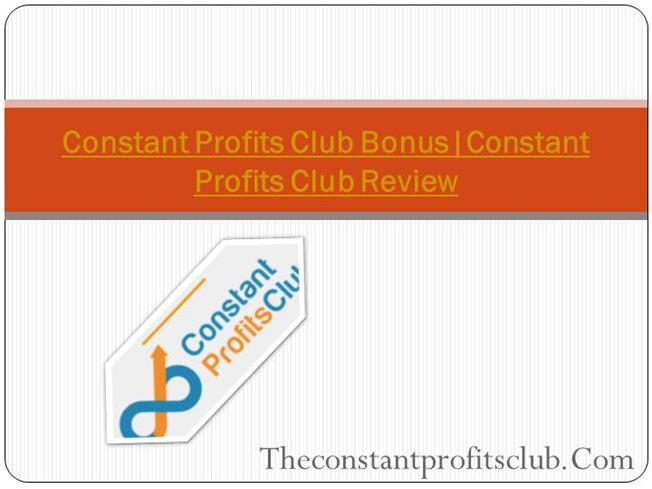 key club powerpoint template - constant profits club review authorstream