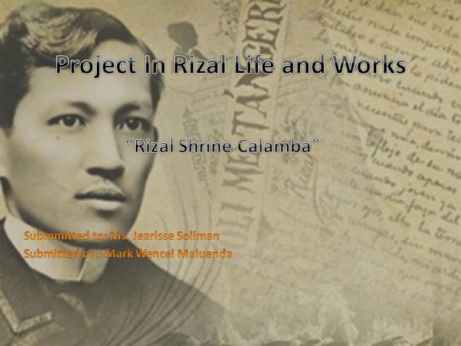 the life and works of rizal Start studying life and works of rizal (prelim) learn vocabulary, terms, and more with flashcards, games, and other study tools.