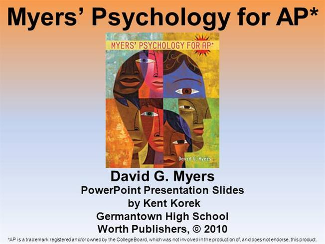 Exploring Psychology 9th Edition Myers Pdf