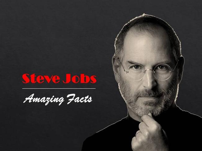 12 amazing facts about steve jobs authorstream for Steve jobs powerpoint template