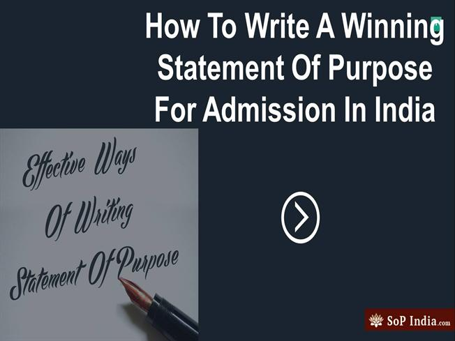 Hire best SOP Writers in India