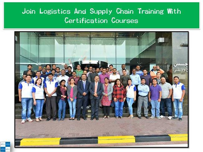 Join Logistics And Supply Chain Training With ...