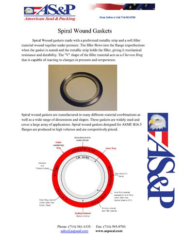 Spiral Wound Gaskets |authorSTREAM