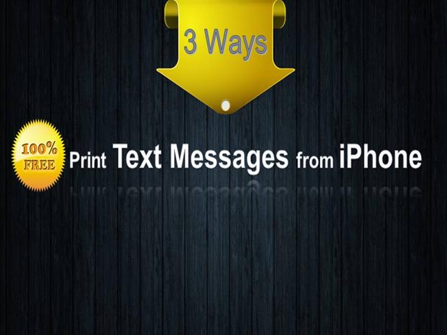 print text messages from iphone 3 free ways to print text messages from iphone authorstream 17928