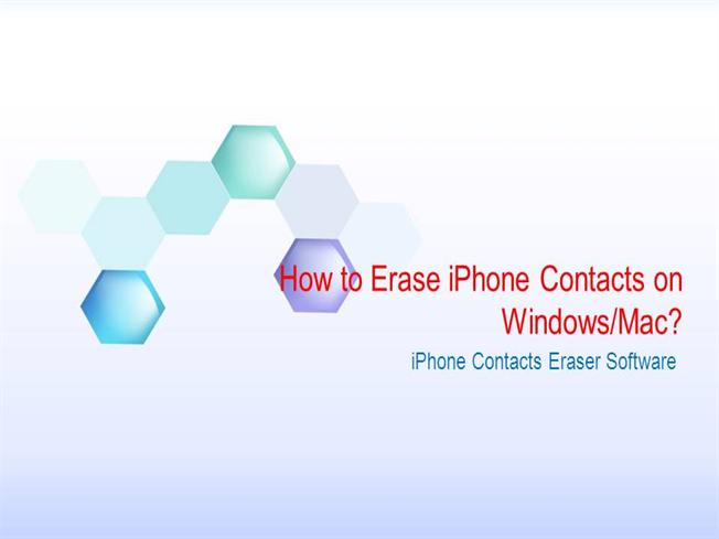 how to clear contacts on iphone how to erase iphone contacts authorstream 18664