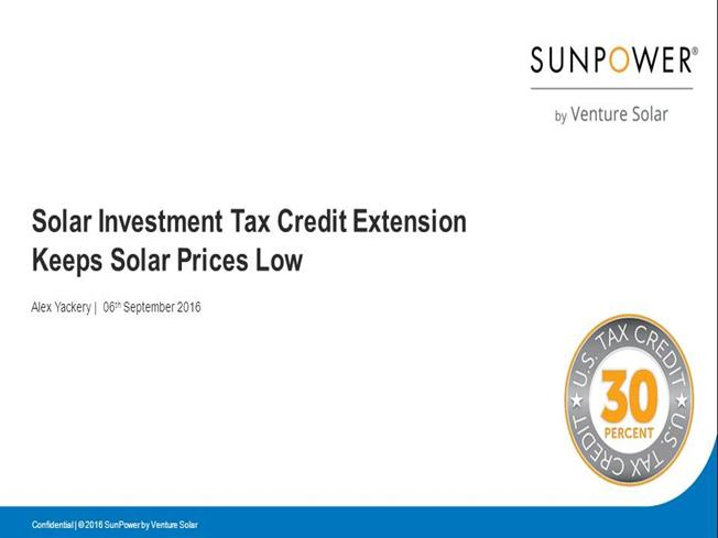 how the federal tax credit works for solar owners authorstream. Black Bedroom Furniture Sets. Home Design Ideas