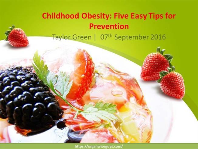 Childhood obesity five easy tips for prevention authorstream for Childhood obesity powerpoint templates