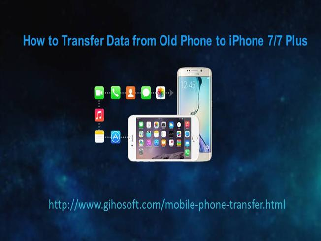 how to transfer from old iphone to new iphone how to transfer data from phone to iphone 7 7 plus 21420