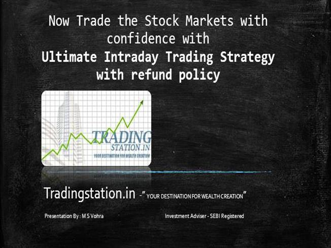 Intraday option trading strategy