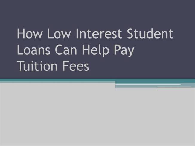 Low Interest College Loans 44