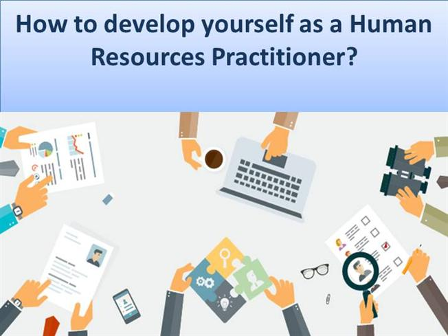 Developing yourself as an effective practitioner