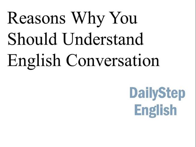 reasons why you should learn english