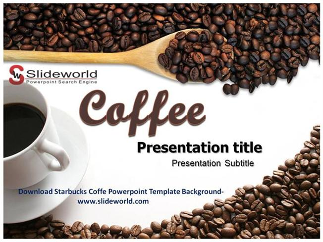 download starbucks coffe powerpoint template authorstream. Black Bedroom Furniture Sets. Home Design Ideas