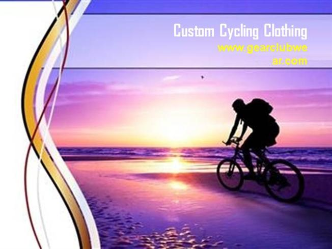 Custom cycling apparel custom cycling clothing for Key club powerpoint template
