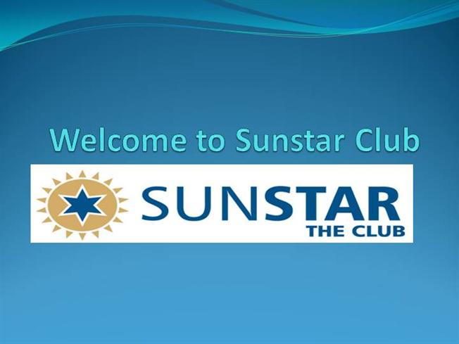 Sunstar the club membership services authorstream for Key club powerpoint template