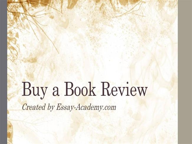 Buy a book review essay as the college thesis
